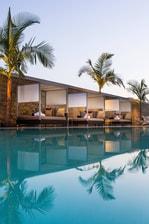 Residence Inn L.A. Live Pool Cabanas
