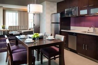 Executive Suite Kitchen & Dining Area