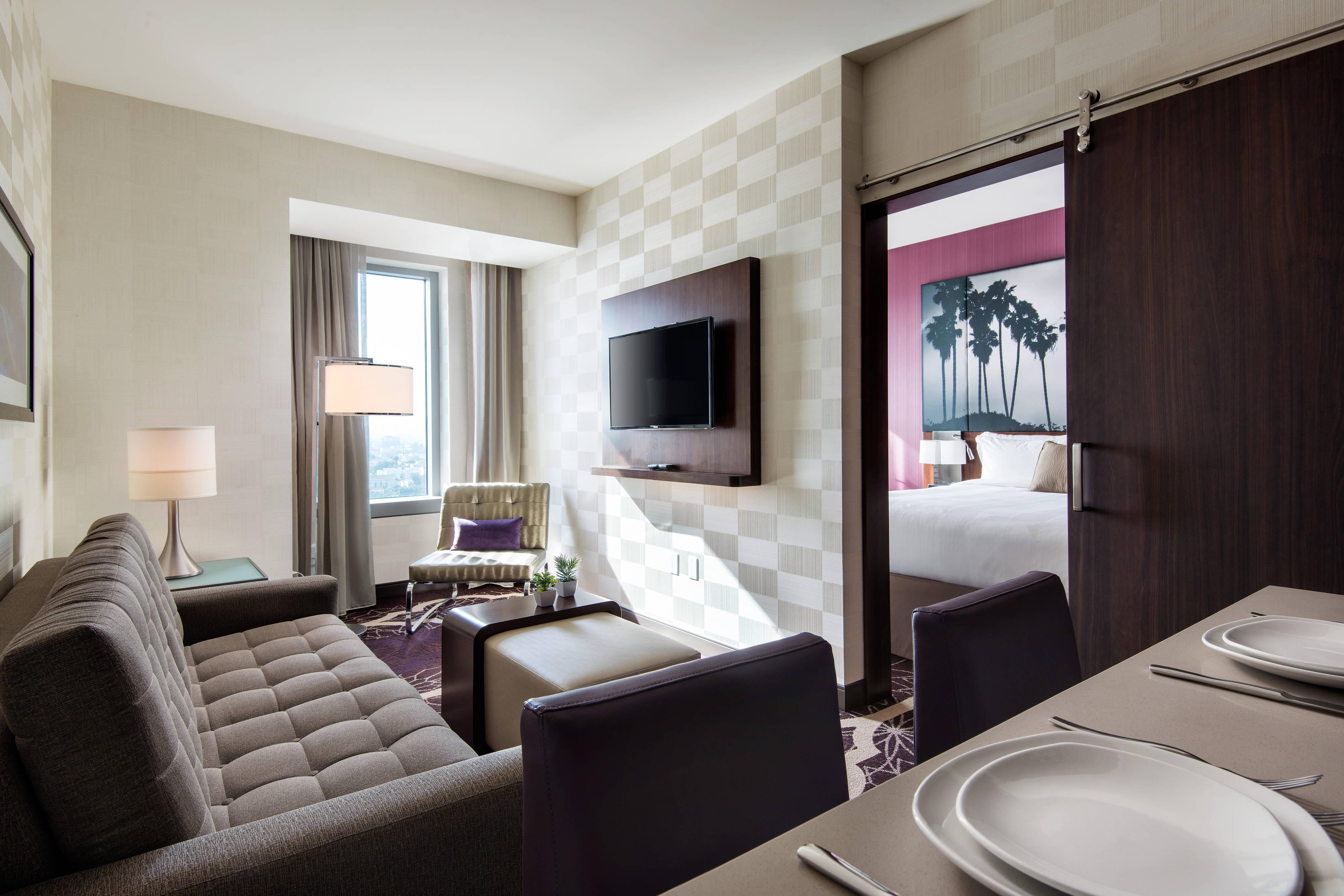 Junior Suite mit einem Schlafzimmer – Wohnbereich