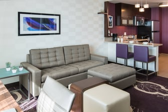 Residence Inn L.A. LIVE - Queen Queen One Bedroom