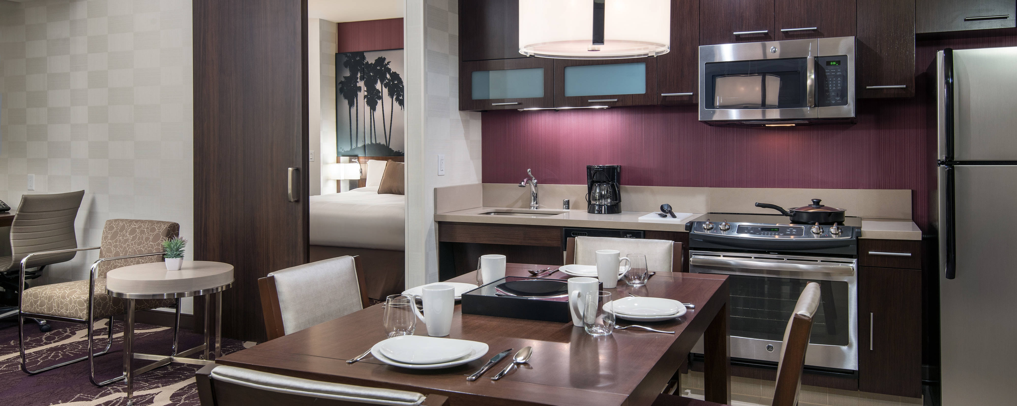Extended Stay Hotel In Downtown L A Residence Inn Los Angeles