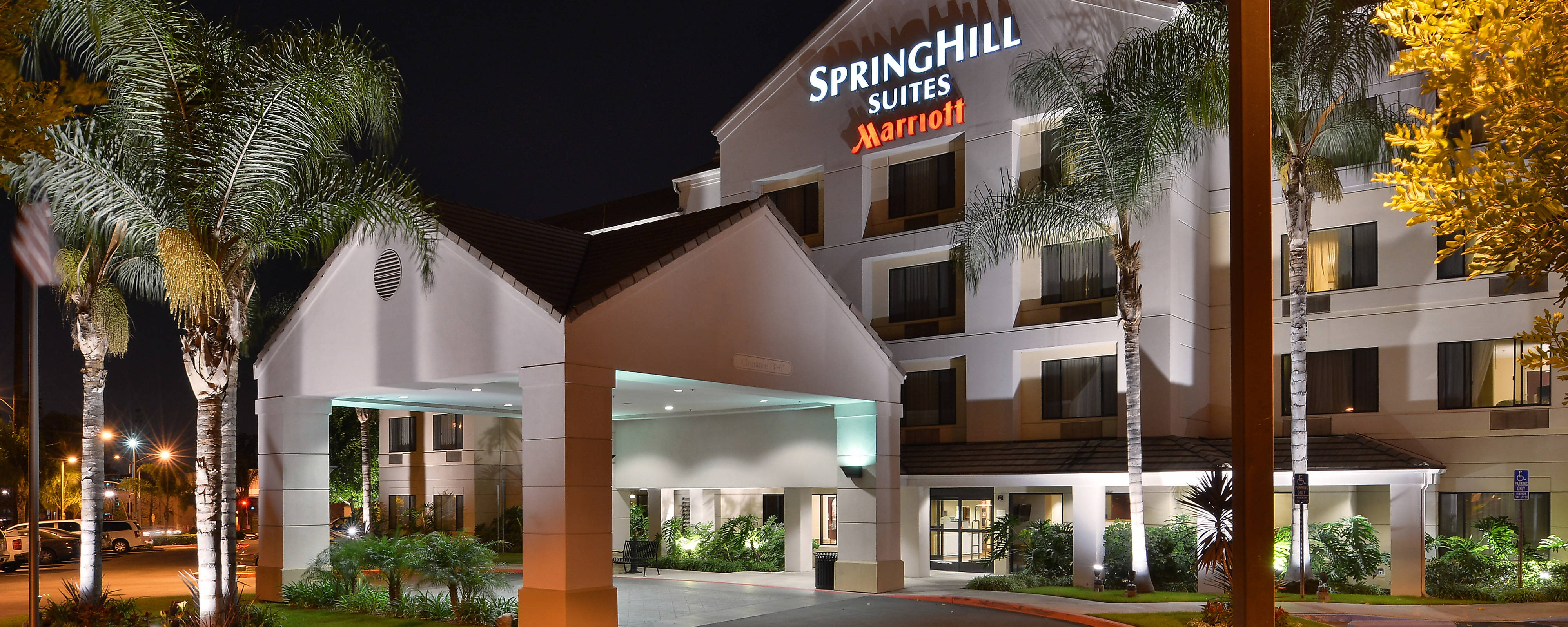 Extérieur de l'hôtel SpringHill Suites Pasadena Arcadia