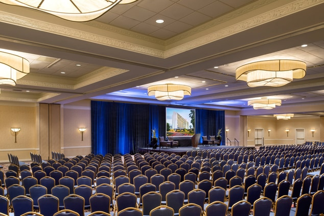 Grand Ballroom Theater Setting