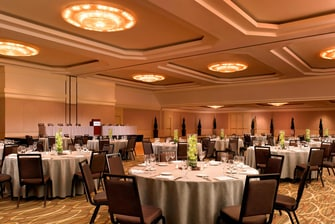 Grand Ballroom - Dinner Event setup