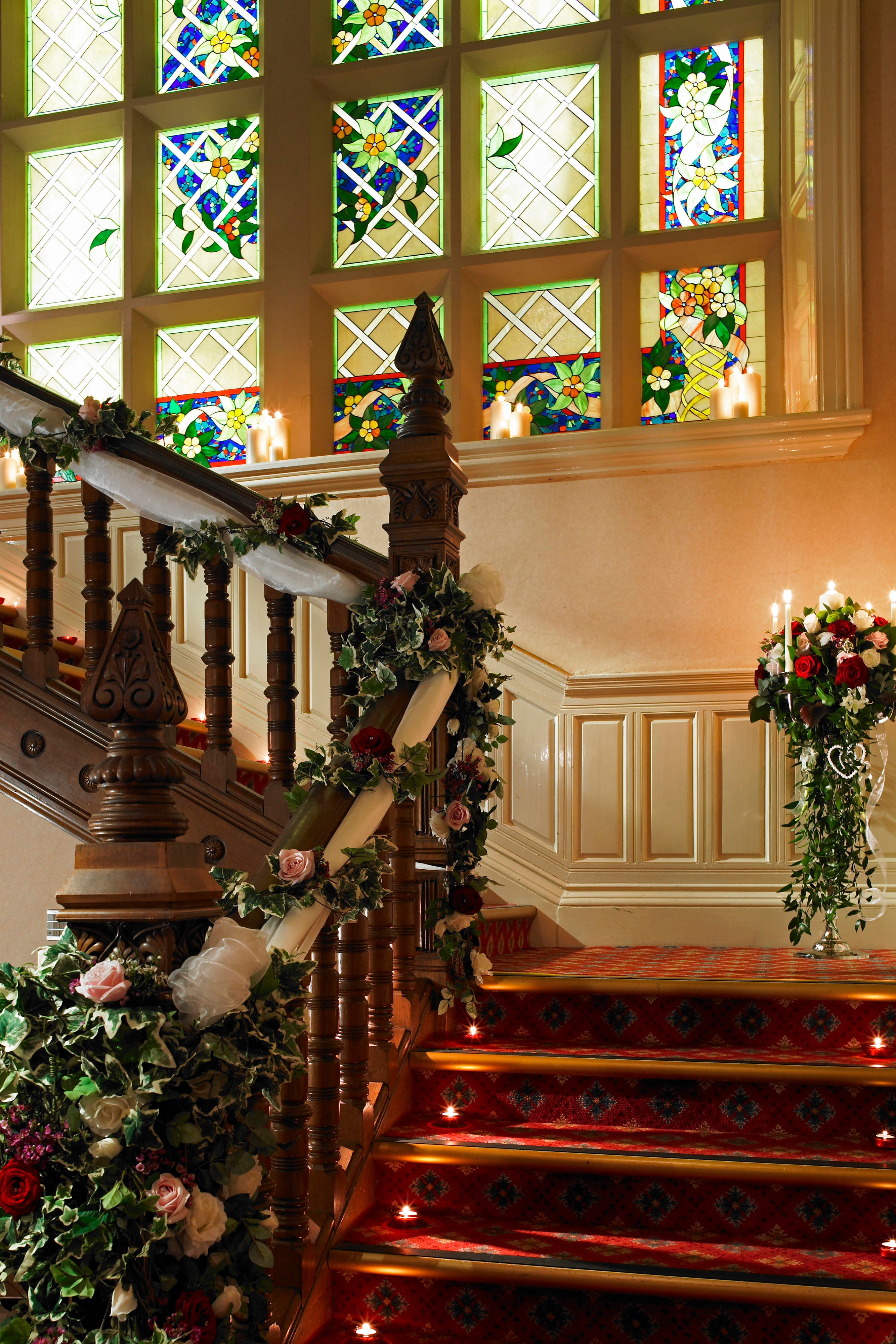 Escalera del Hollins Hall