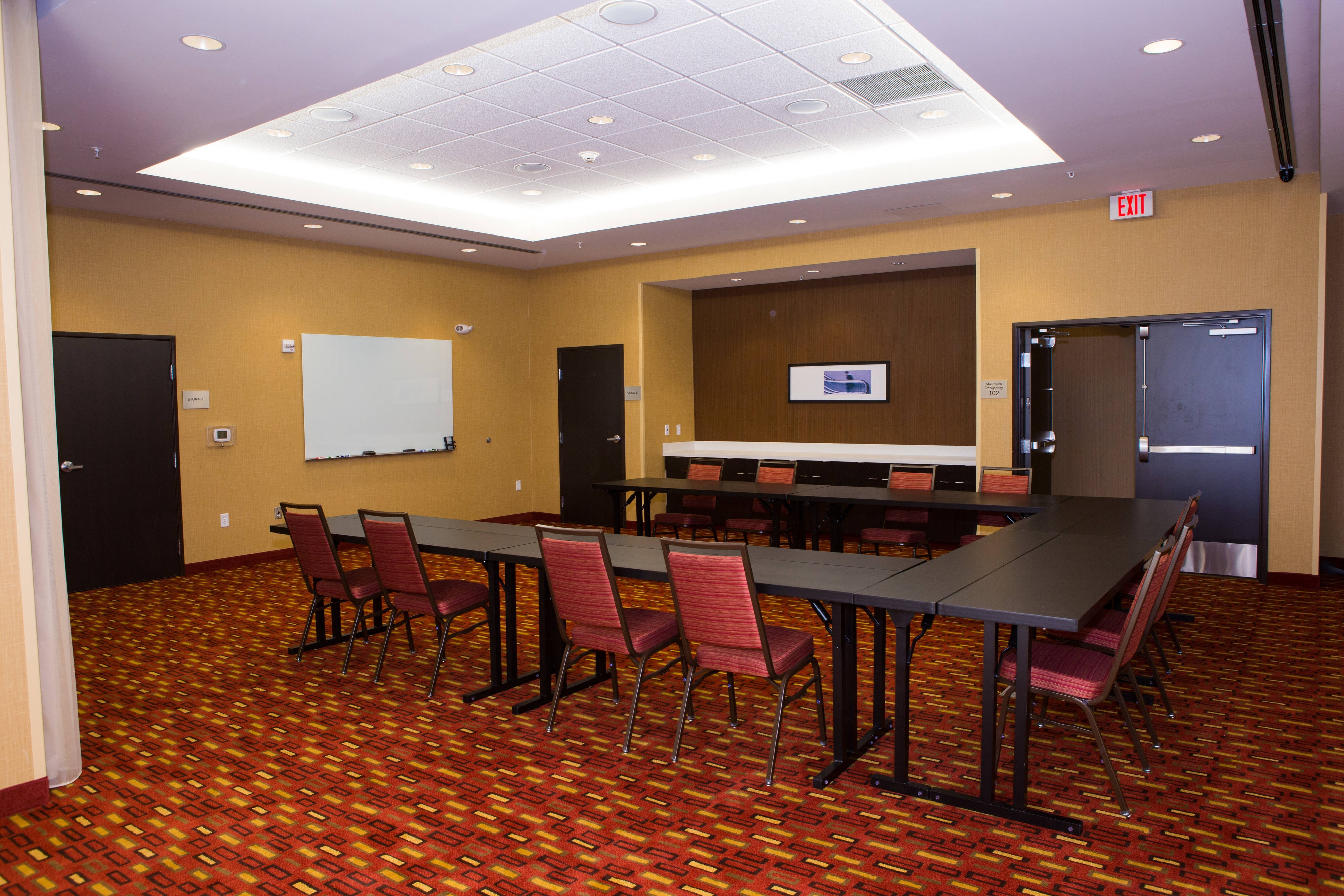 Will Rogers Meeting Room – U-Shape Setup