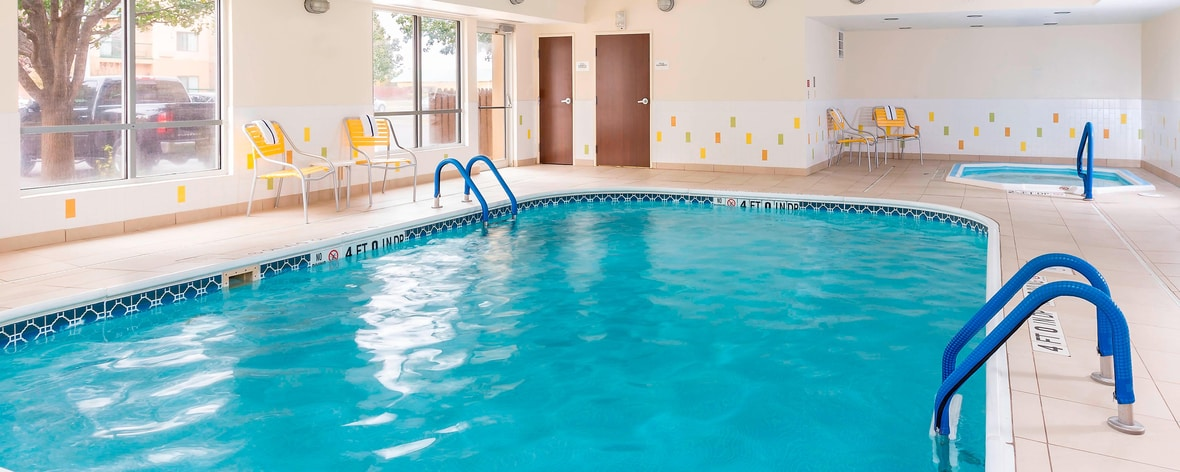 Lubbock, TX Indoor Pool and Spa
