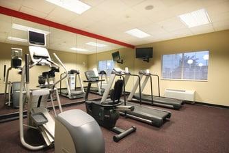 Lubbock TX hotel fitness center