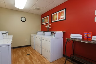 Lubbock Texas Guest Laundry Room