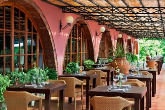 Restaurant in Tuscany Italy
