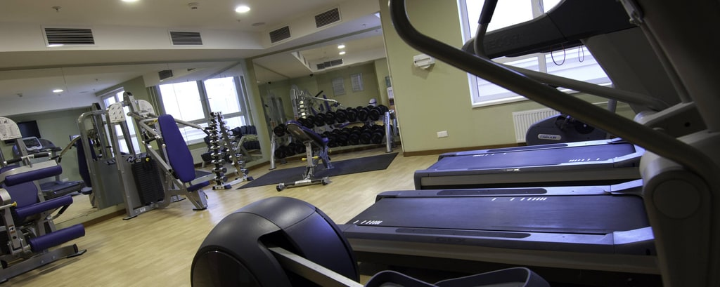 Fitness Center in Hotel in St. Petersburg