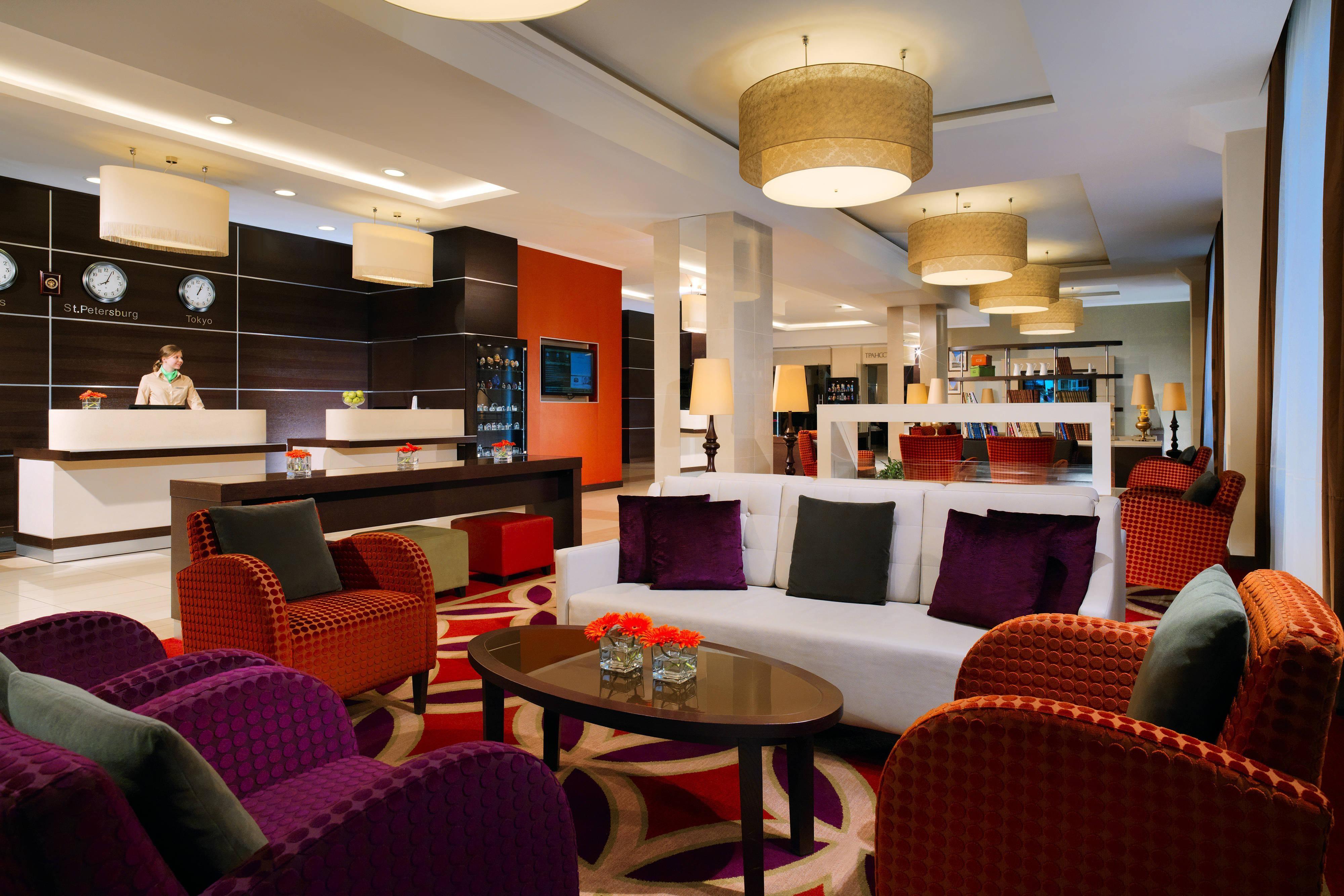 St. Petersburg Russia Hotel Lobby