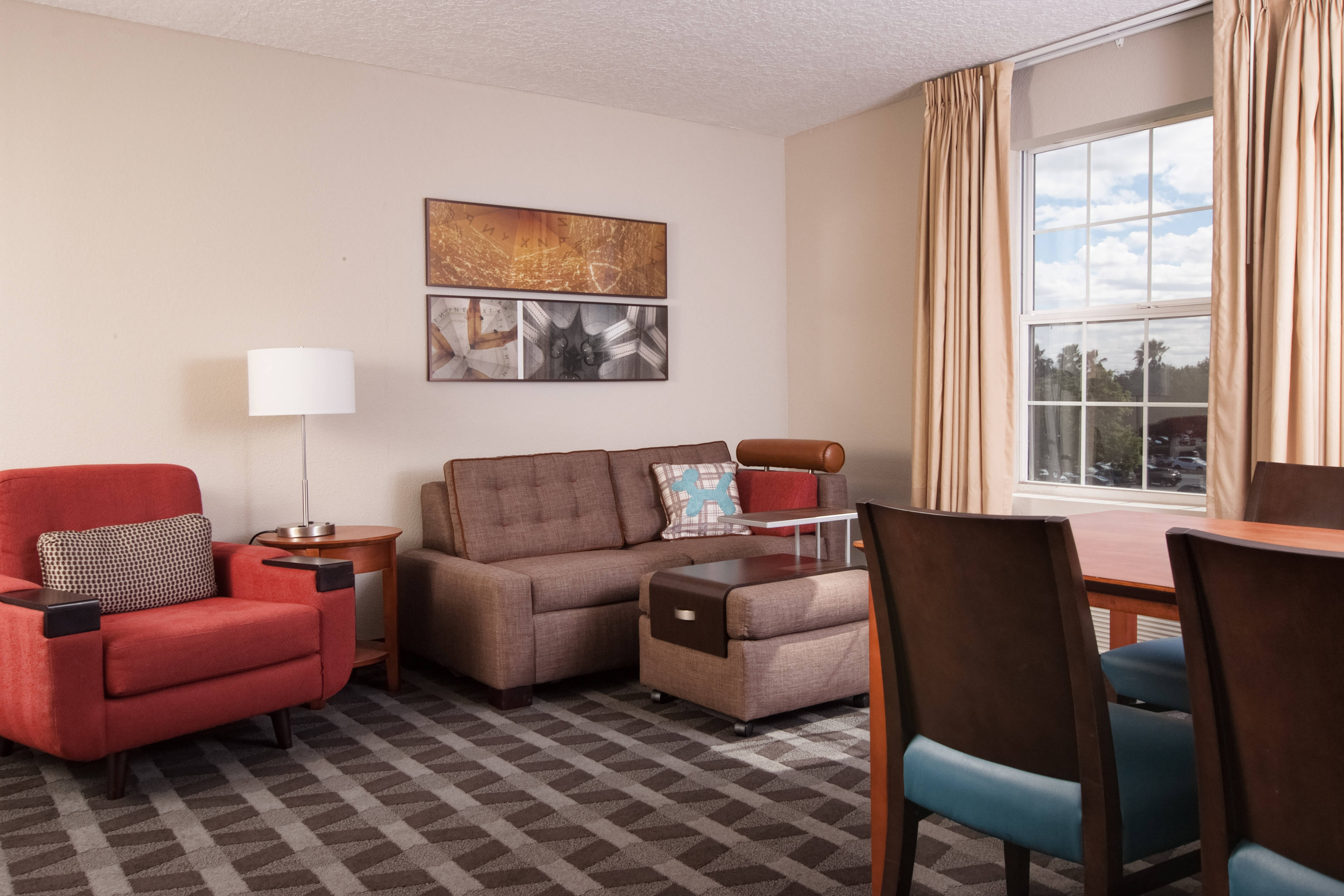 Two-Bedroom King Suite - Living Area