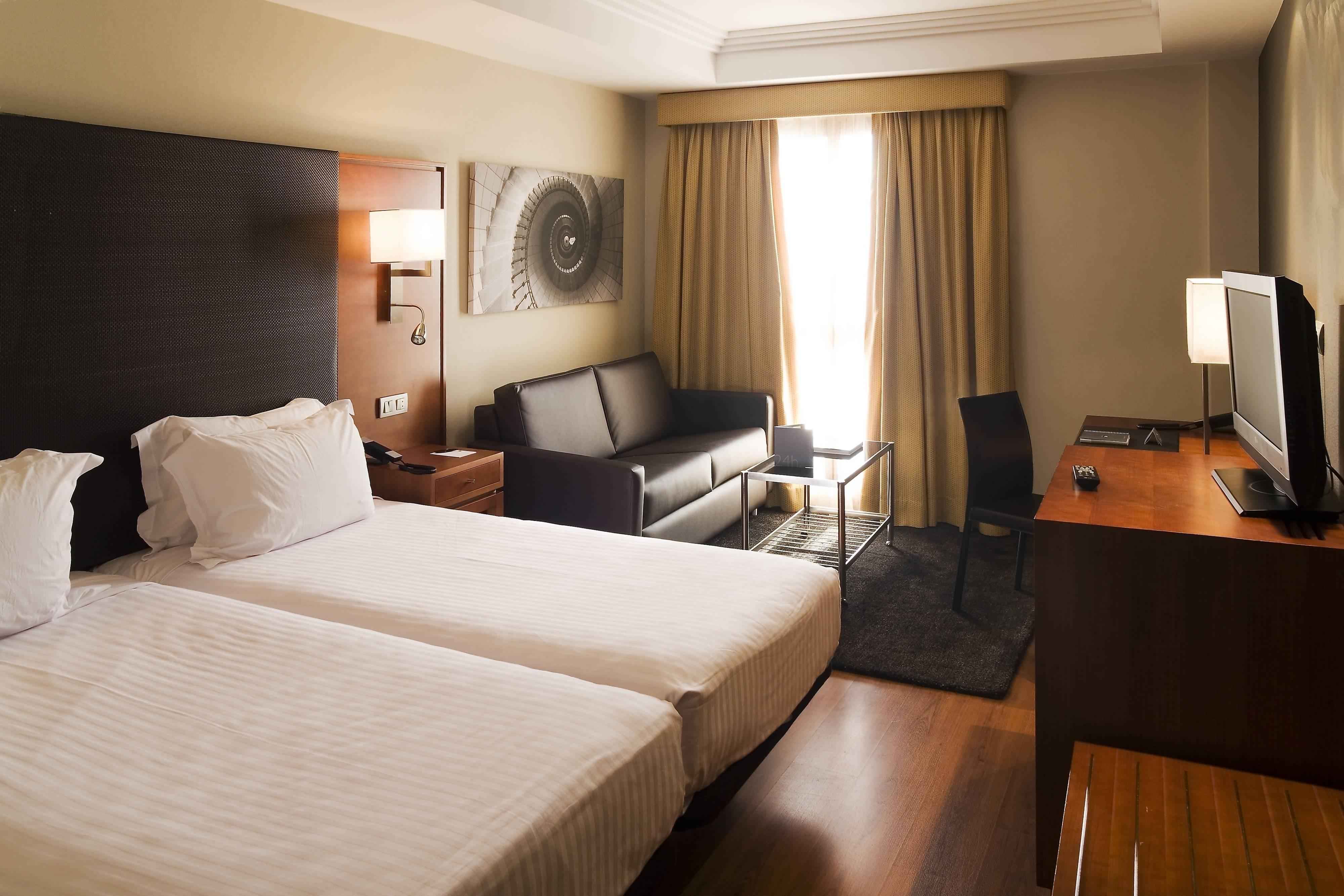 Chambres de l'hôtel Almeria