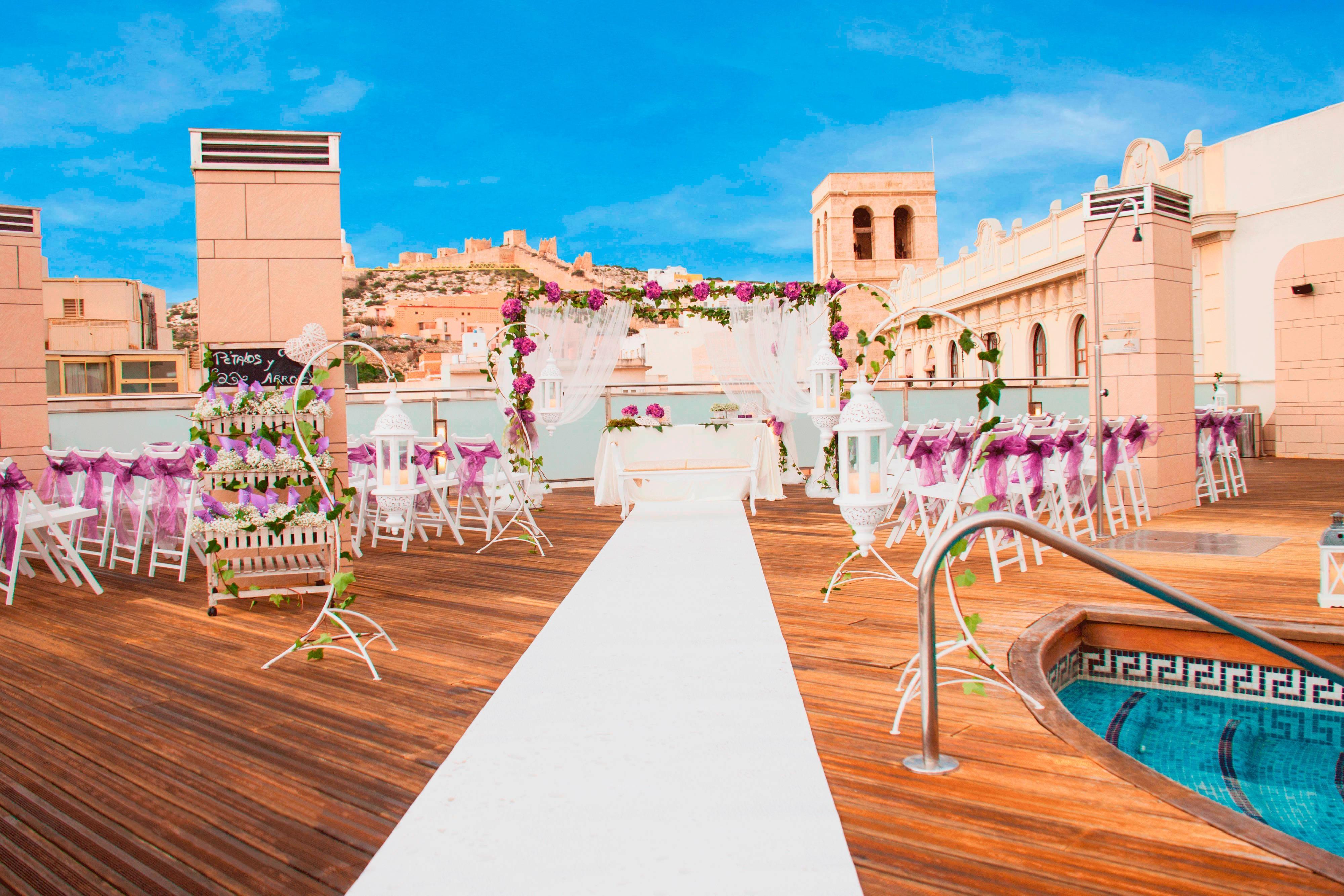 Hotel de Almería con terraza