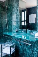Baño de la habitación- Hotel de León