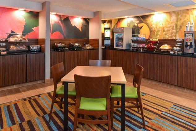 Fairfield Inn & Suites Georgetown Breakfast