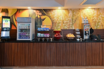 Fairfield Inn & Suites Georgetown Continental Breakfast