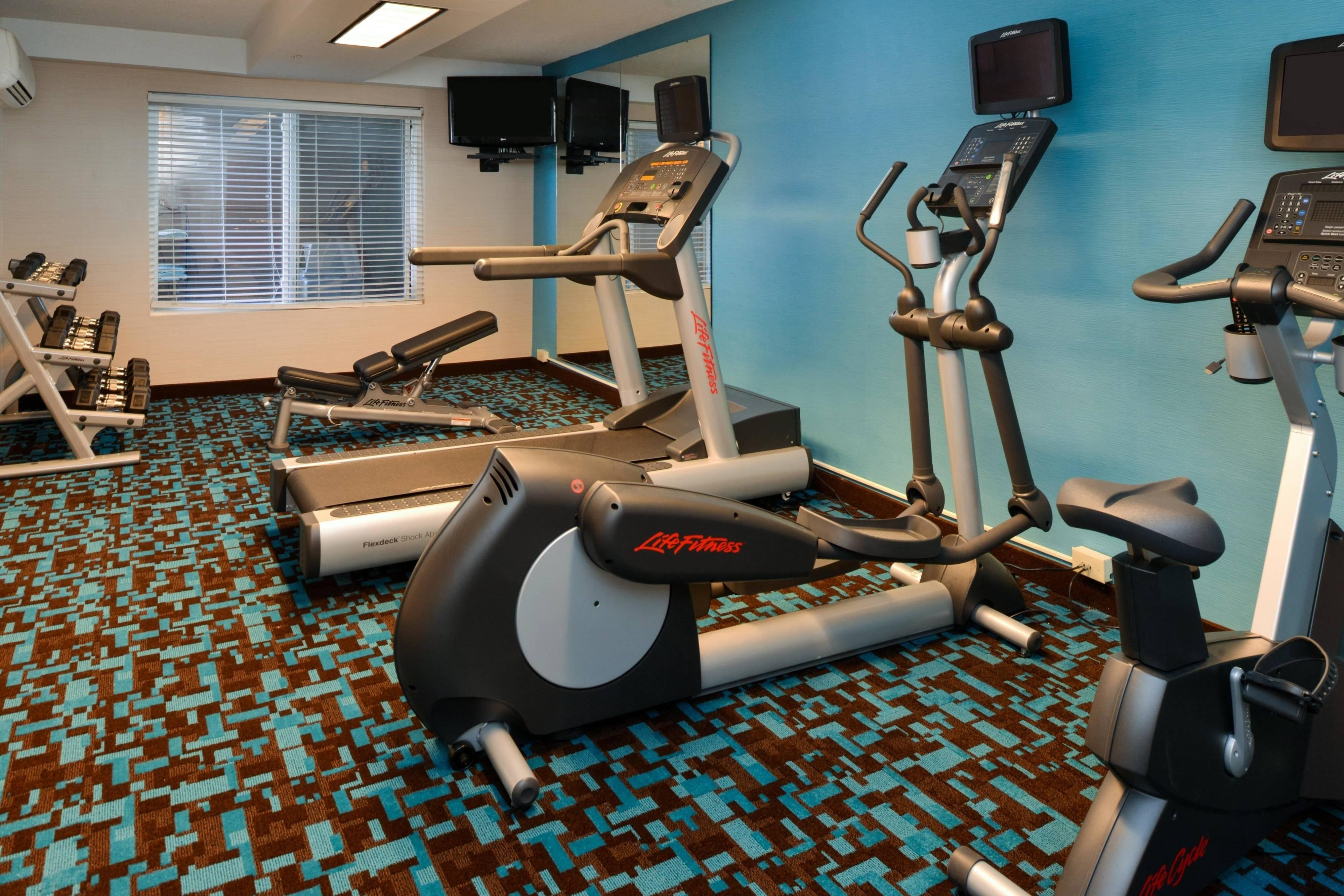 Fairfield Inn & Suites Georgetown Fitness Center
