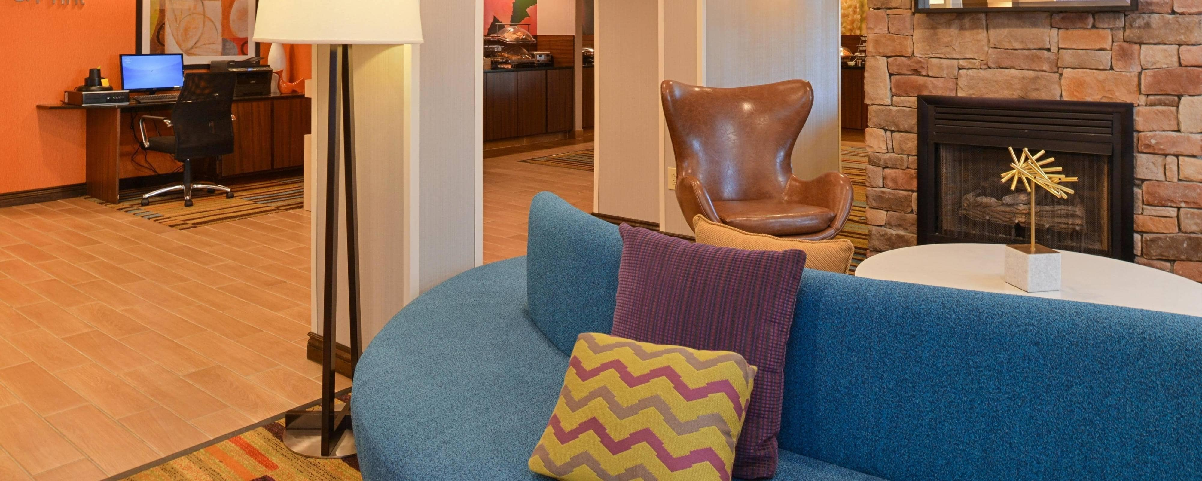 Lobby del Fairfield Inn & Suites en Georgetown
