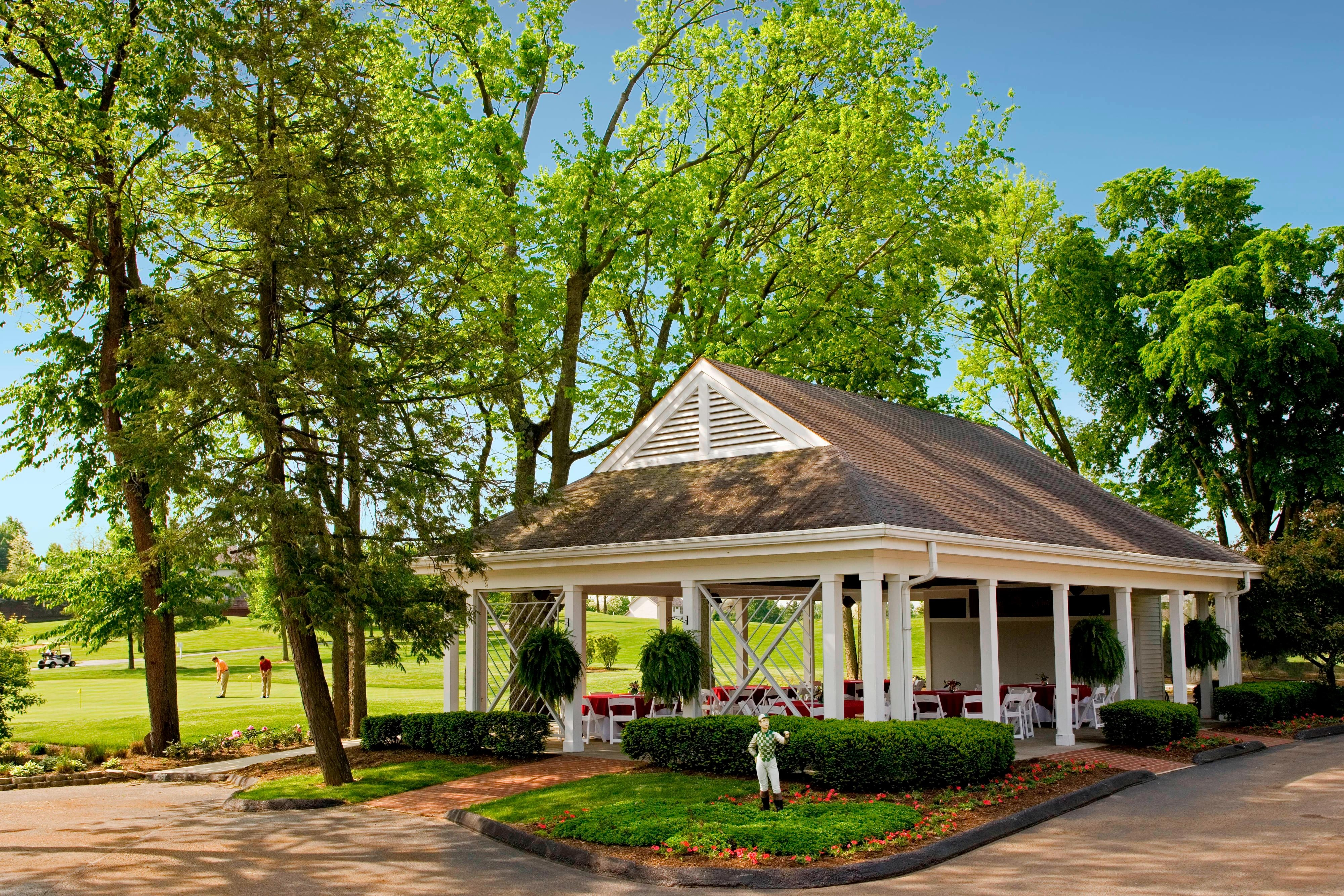 Outdoor Golf Pavilion
