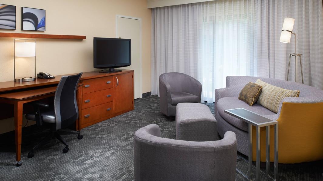 Suite de l'hôtel Courtyard Lexington North