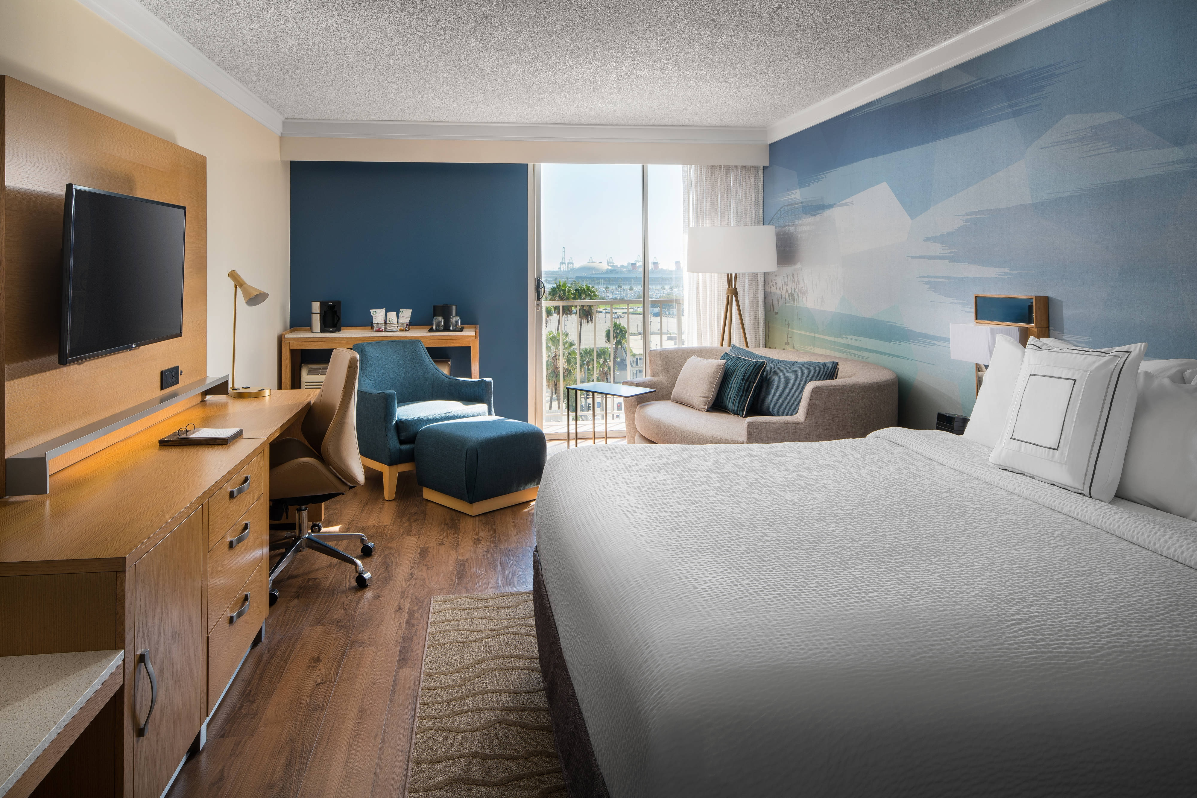 King Harbor View Guest Room
