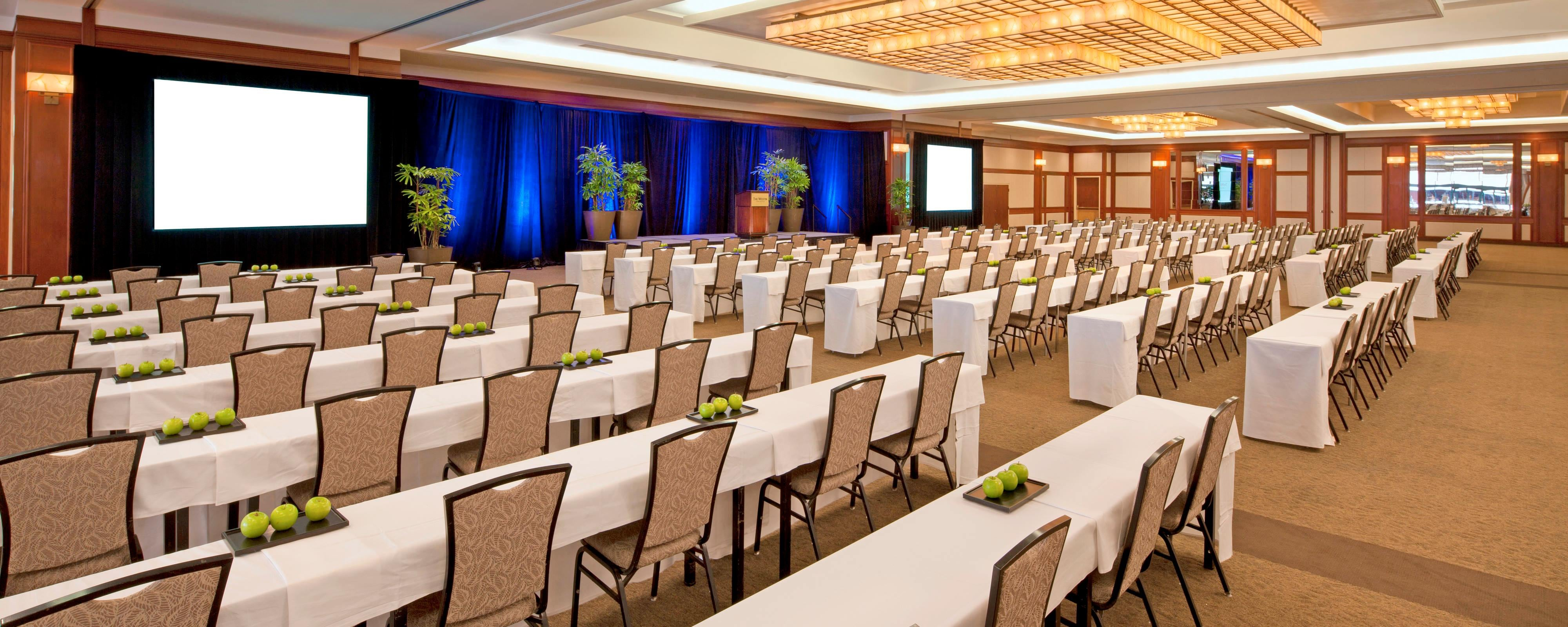 Venue E For Long Beach Meeting Rooms The Westin