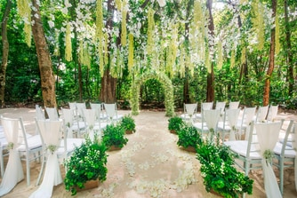 Rainforest Wedding Ceremony