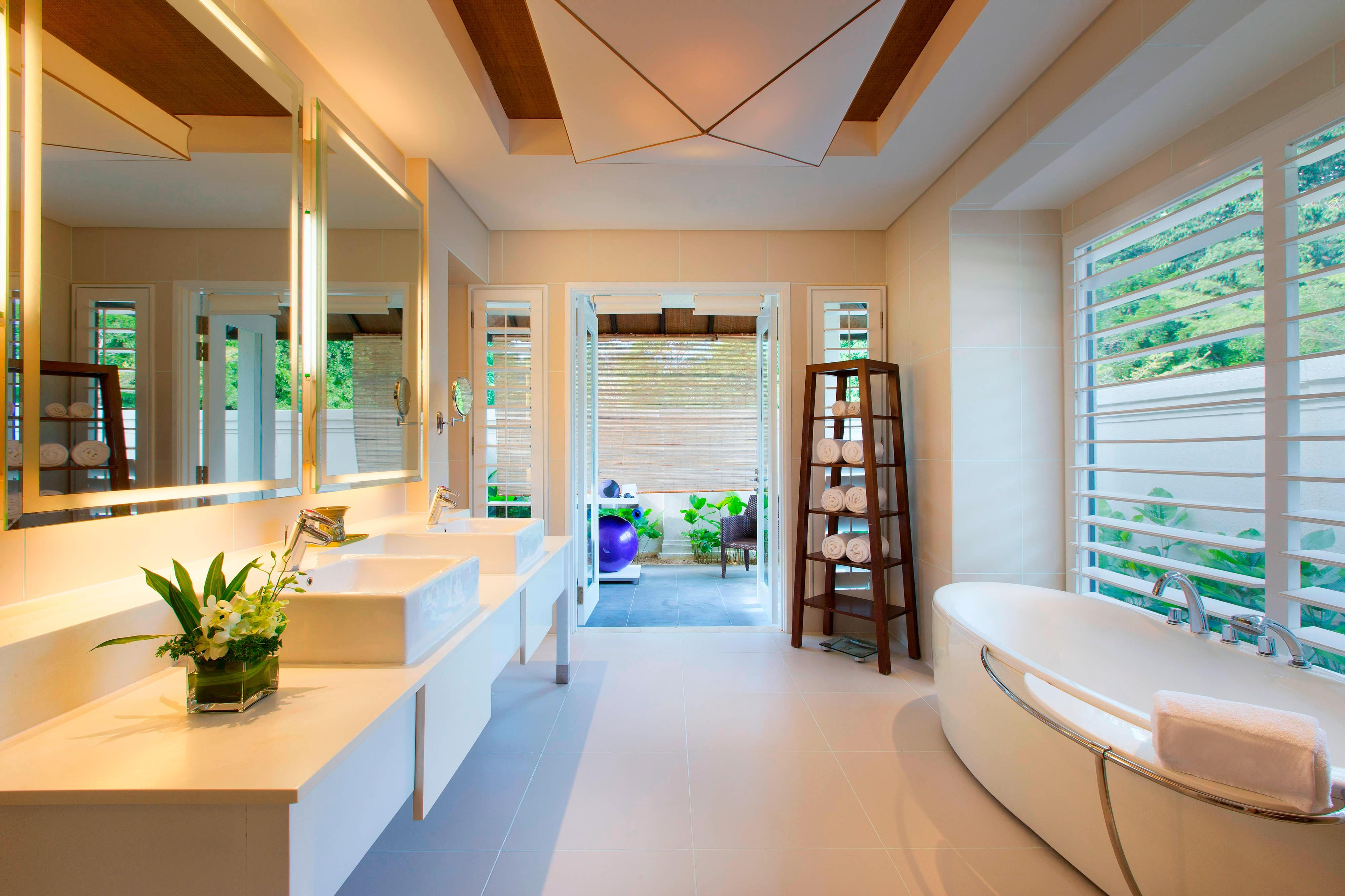 One-Bedroom Villa - Bathroom