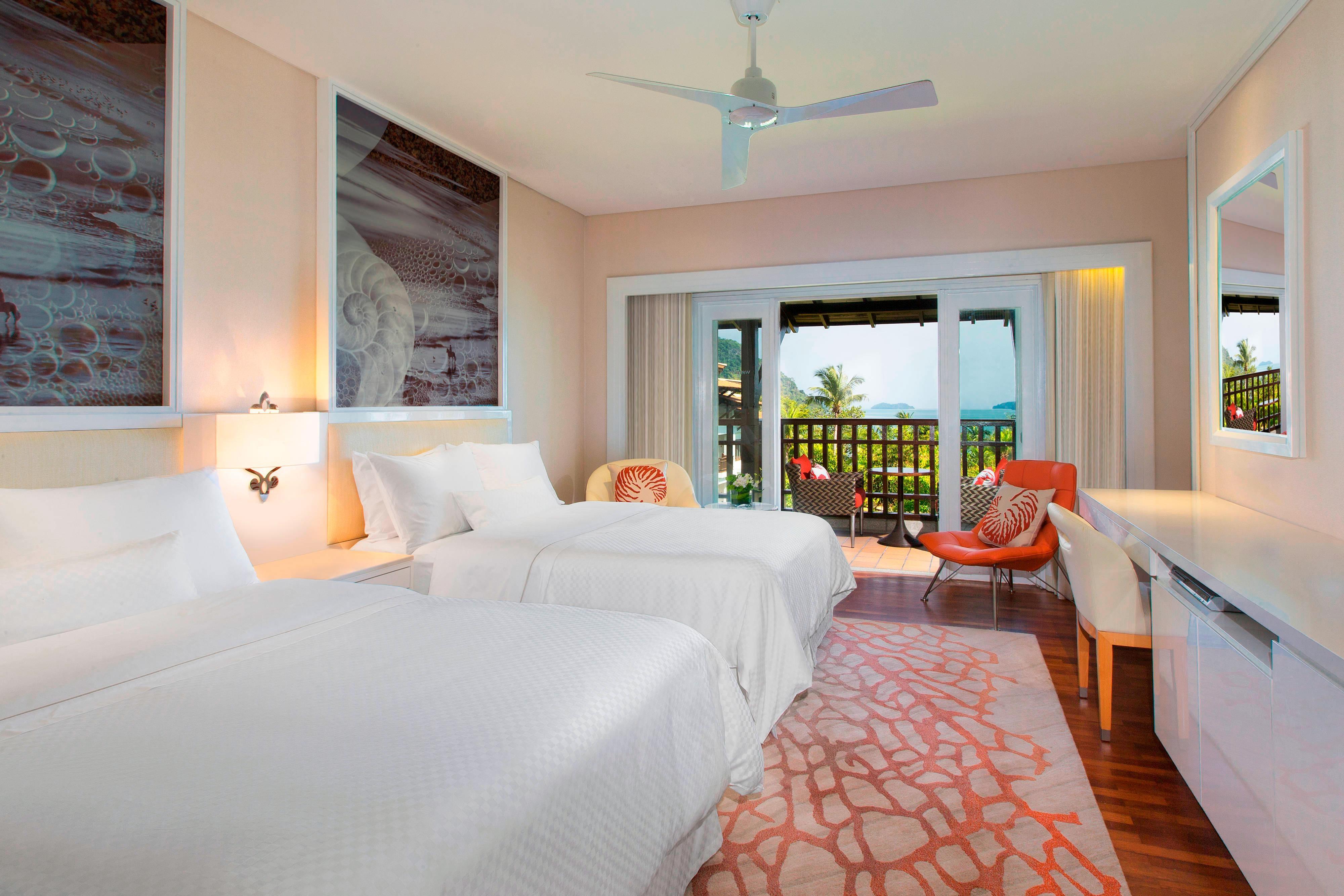 Chambre Premium avec vue sur l'océan