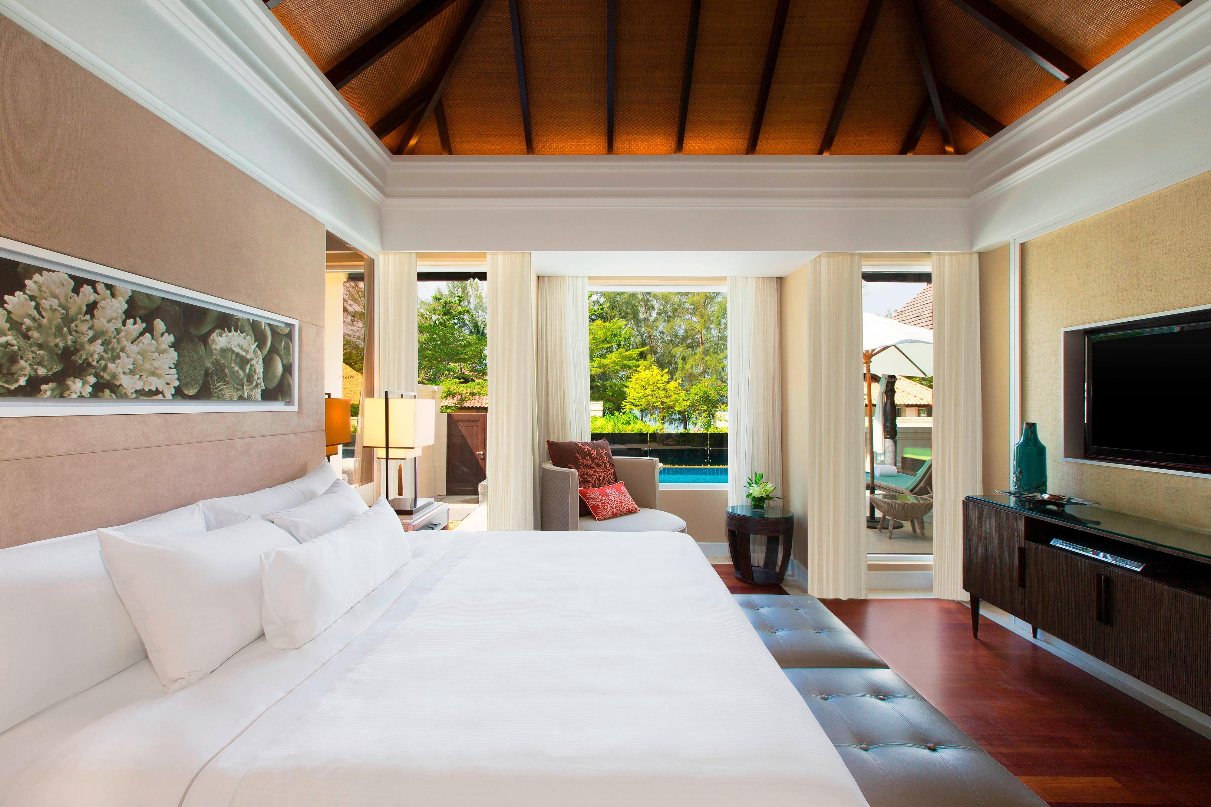 Villa à une chambre: chambre