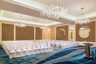 Ballroom Theater Style Setup