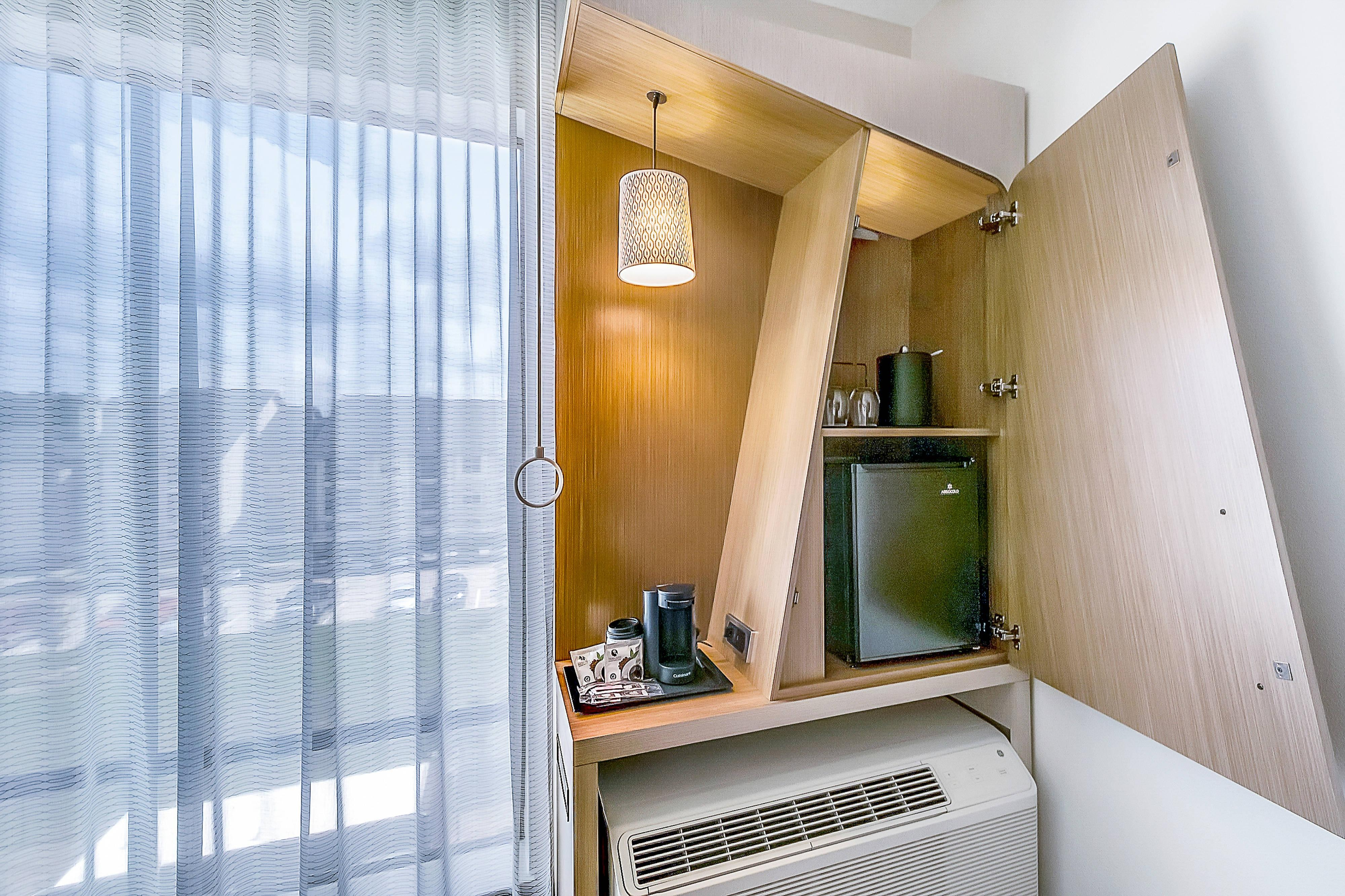 Guest Room - Hospitality Cabinet