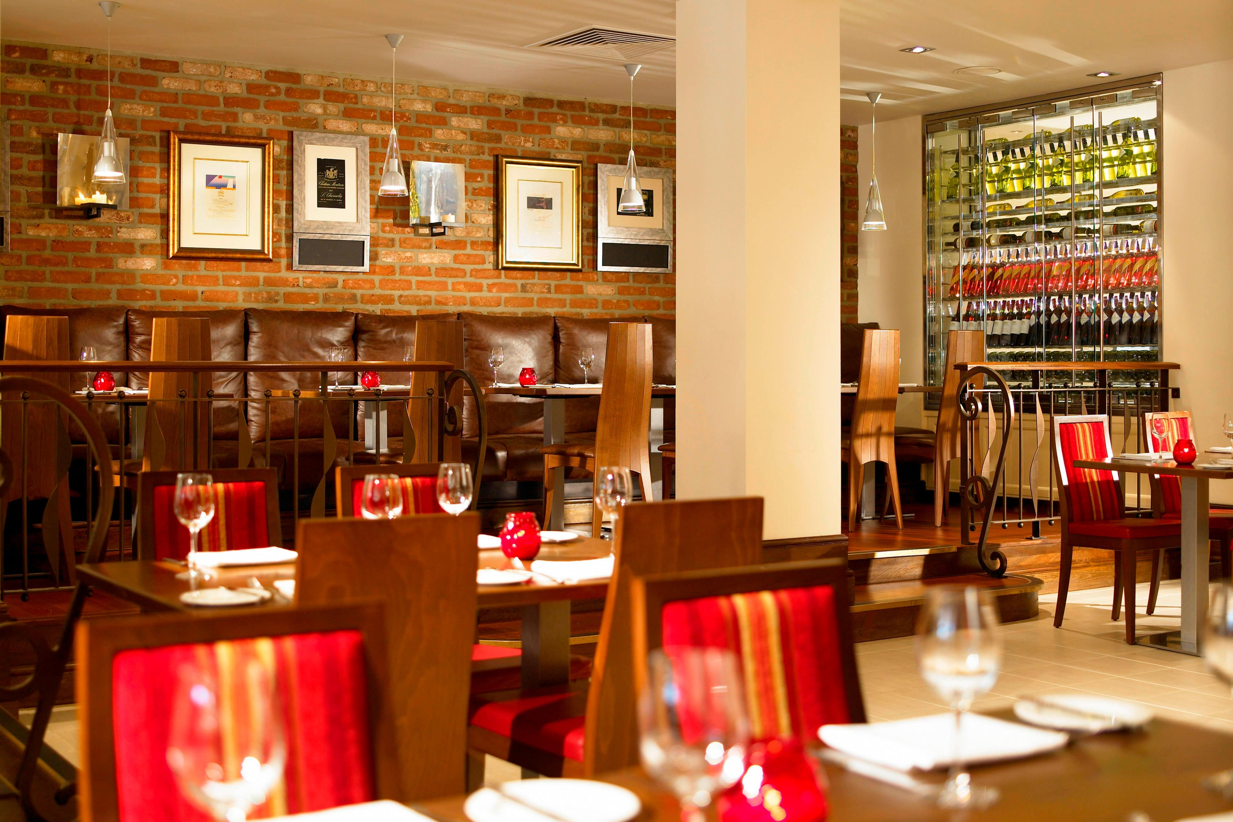 Restaurante Brasserie Centrale en Heathrow