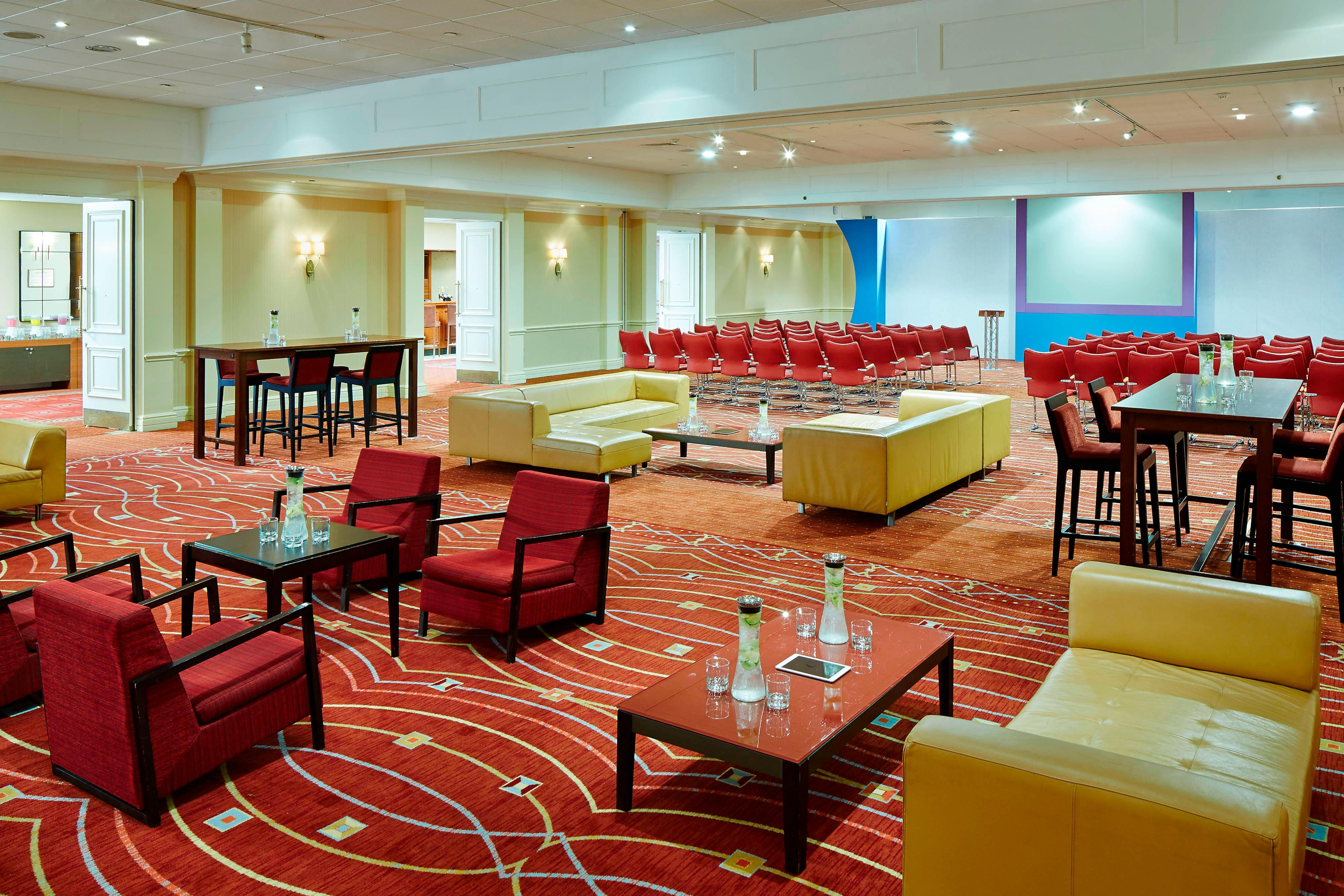 Sala de reuniones del Heathrow/Windsor Marriott Hotel