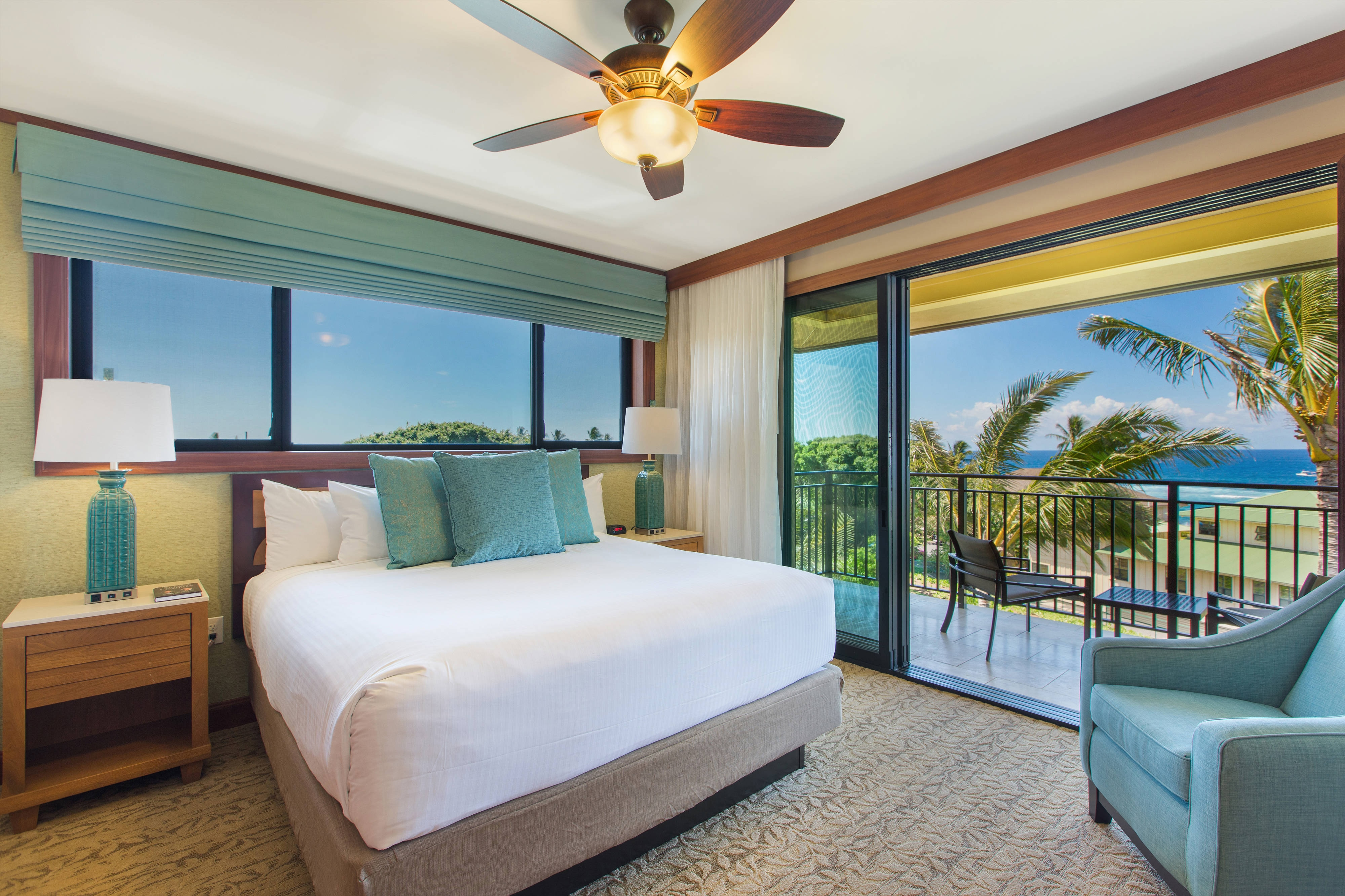 Two-Bedroom Villa Ocean View – Master Bedroom