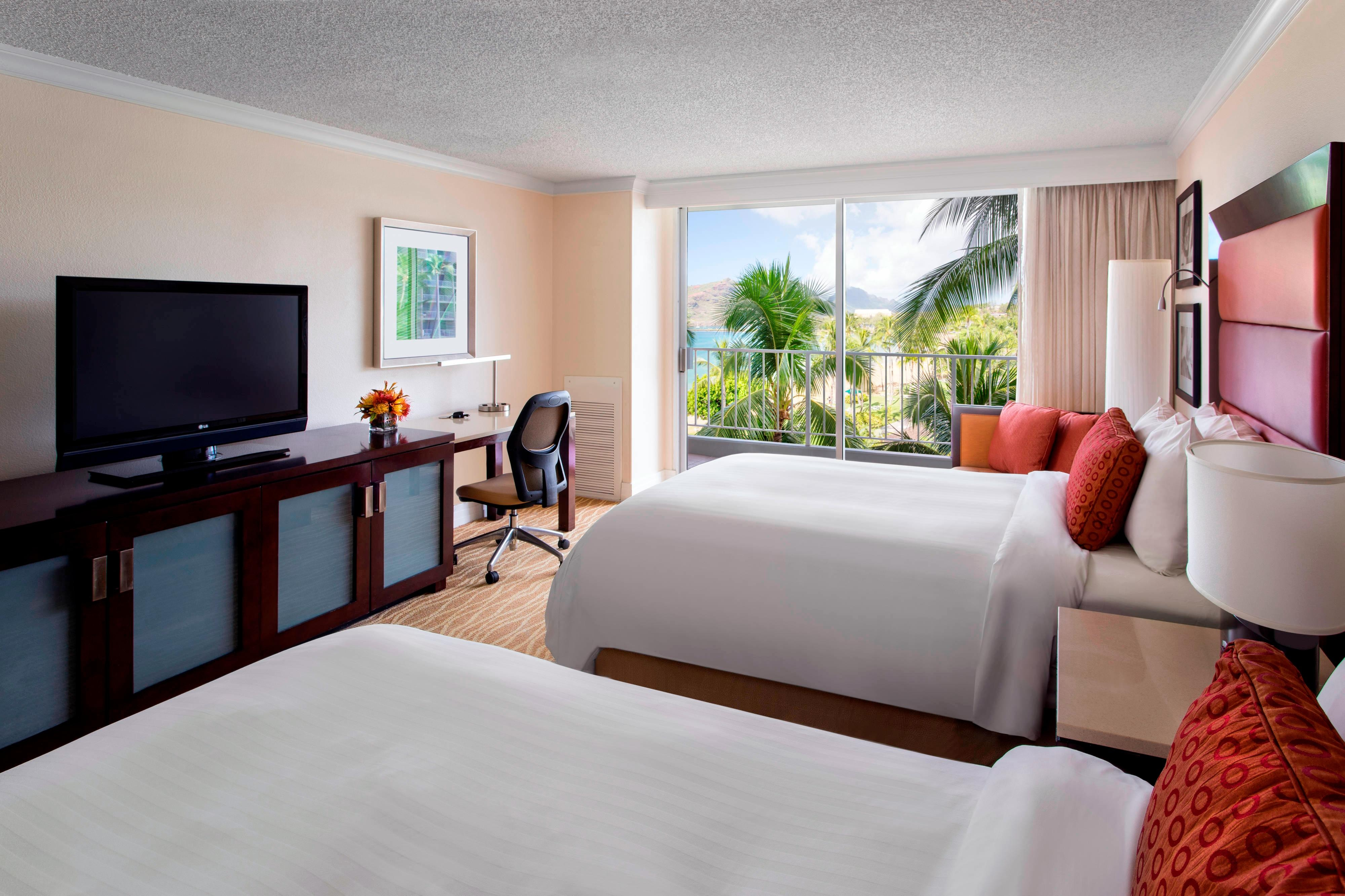 Double Partial Ocean View Guest Room