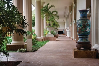 Courtyard Walkways