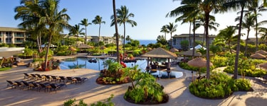 Отель The Westin Princeville Ocean Resort Villas