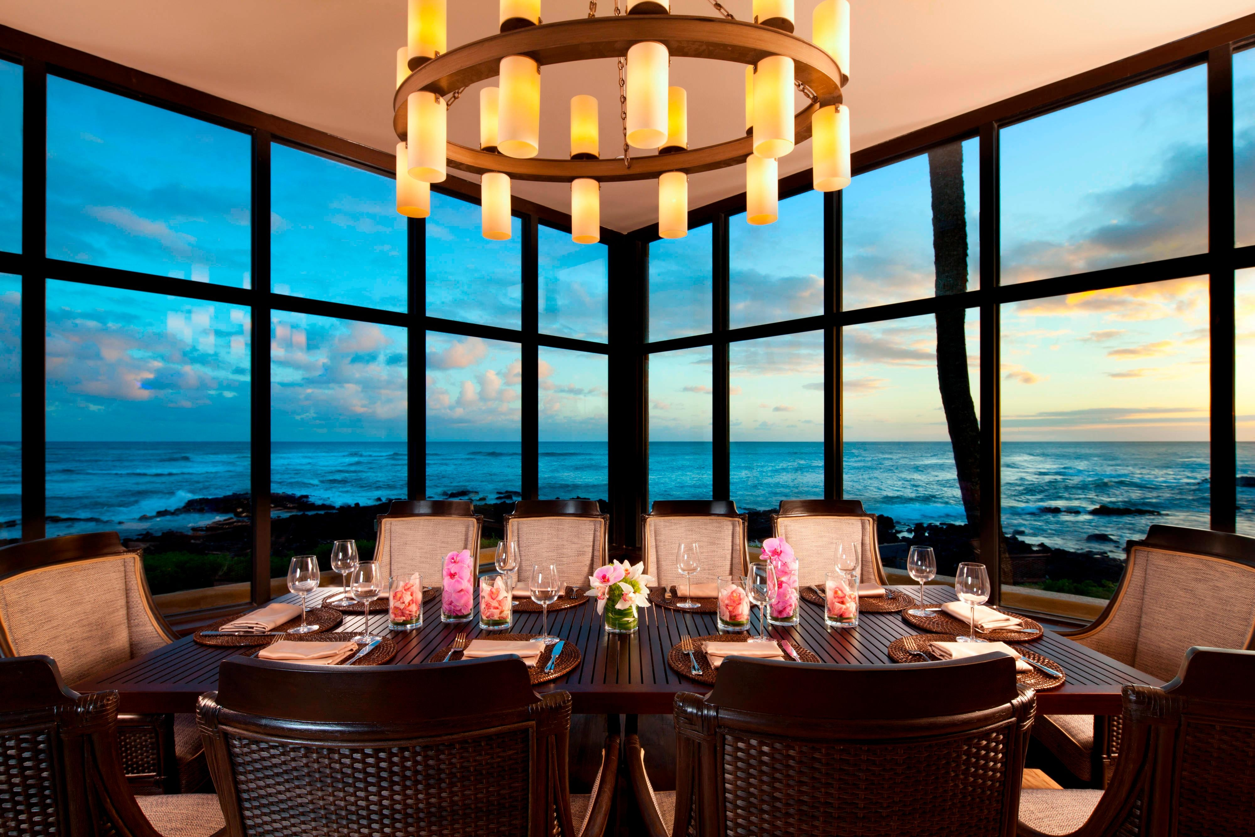 Rum Fire Restaurant - Private Dining Room