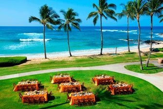 Beach Lawn with Reception