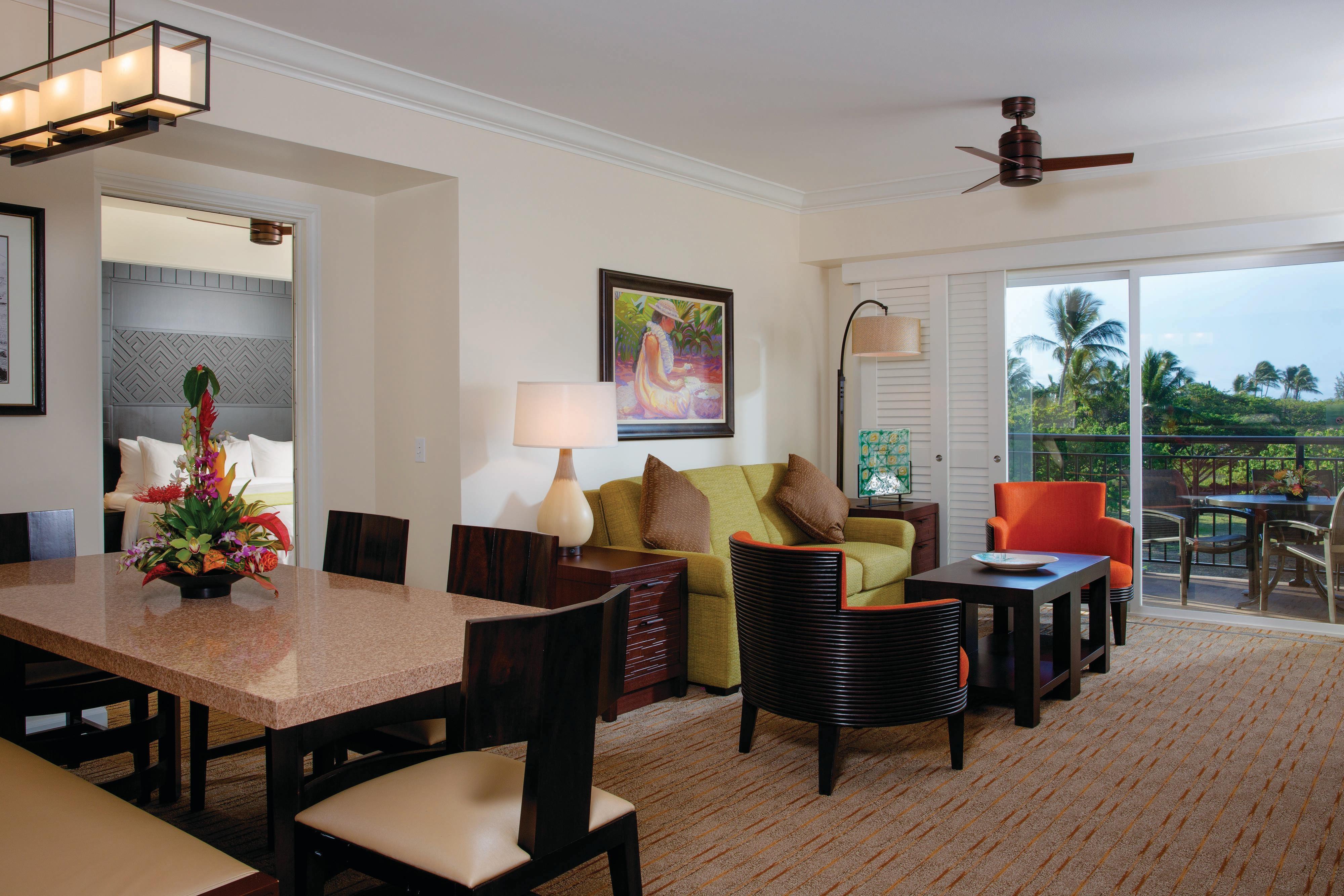 Villa Living & Dining Area