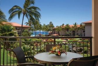 Villa Balcony Ocean View