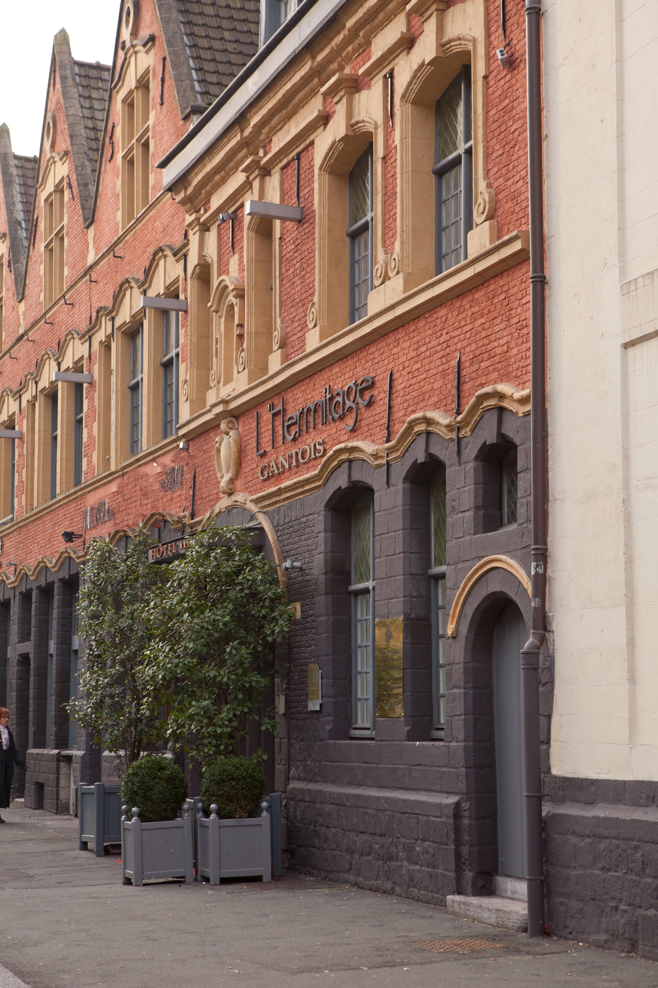 Façade de l'hôtel Hermitage Gantois, à Lille
