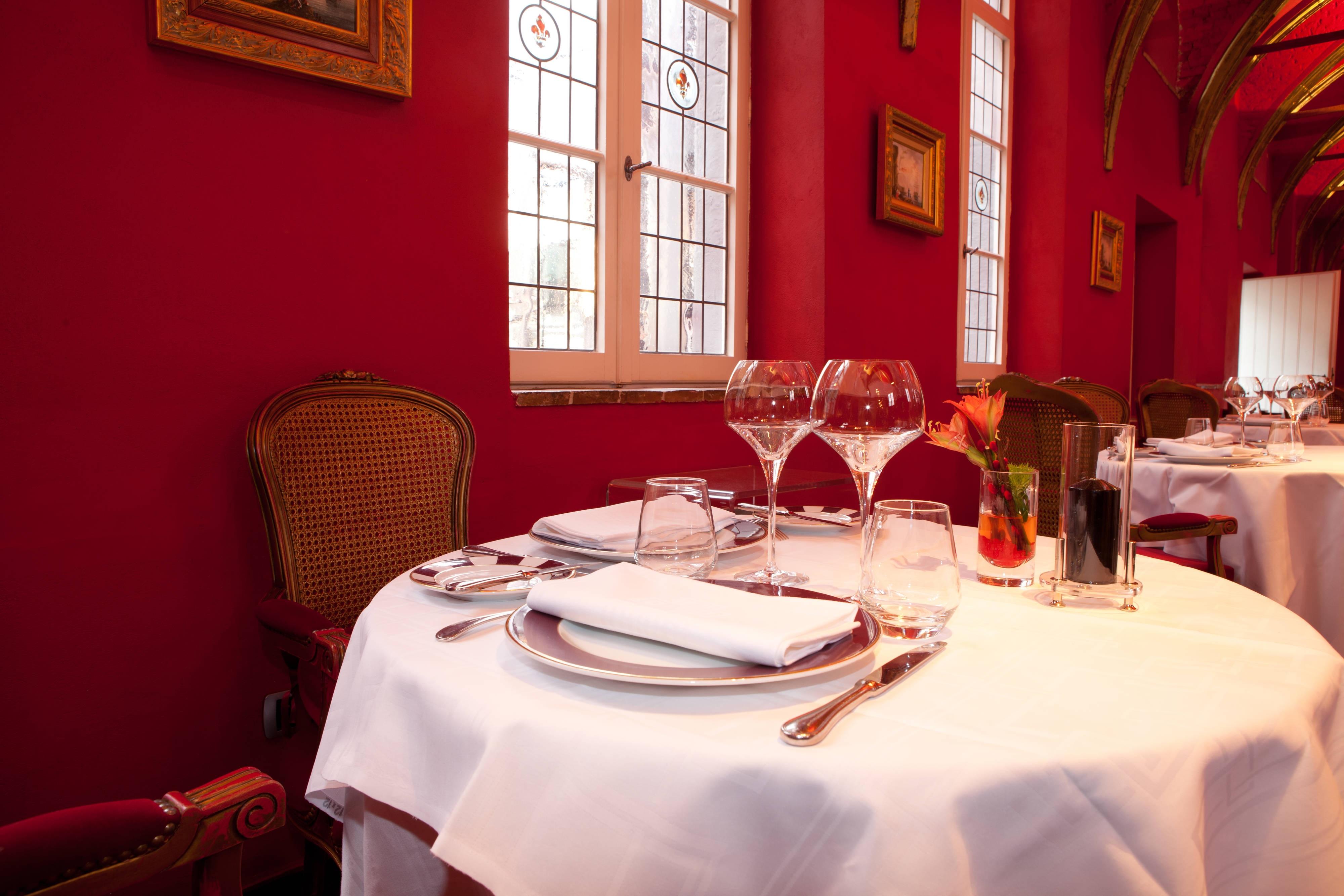 Restaurant gastronomique de l'hôtel Hermitage Gantois