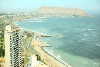 Miraflores hotel with a view