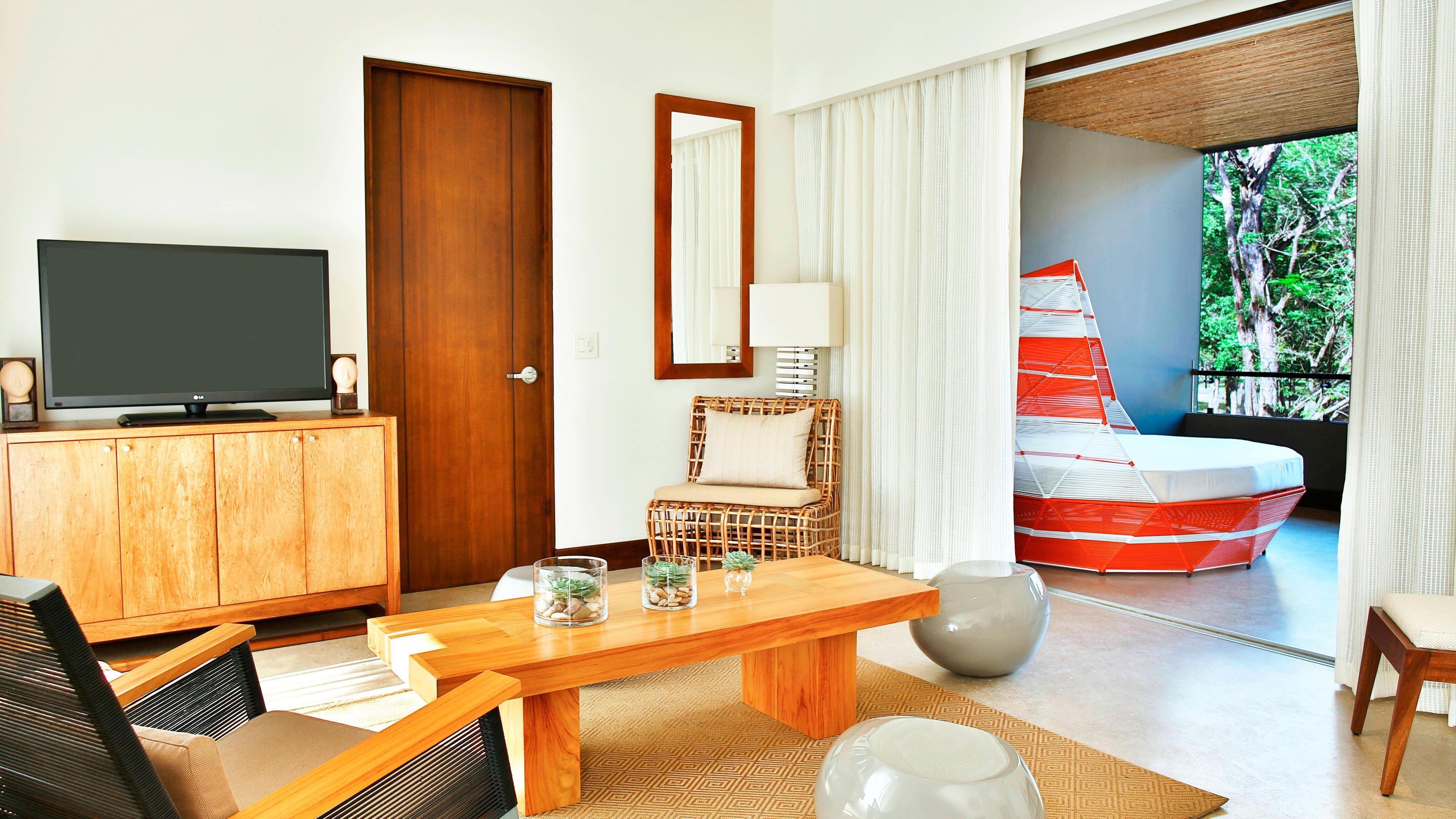 Große Master Suite mit einem Kingsize-Bett