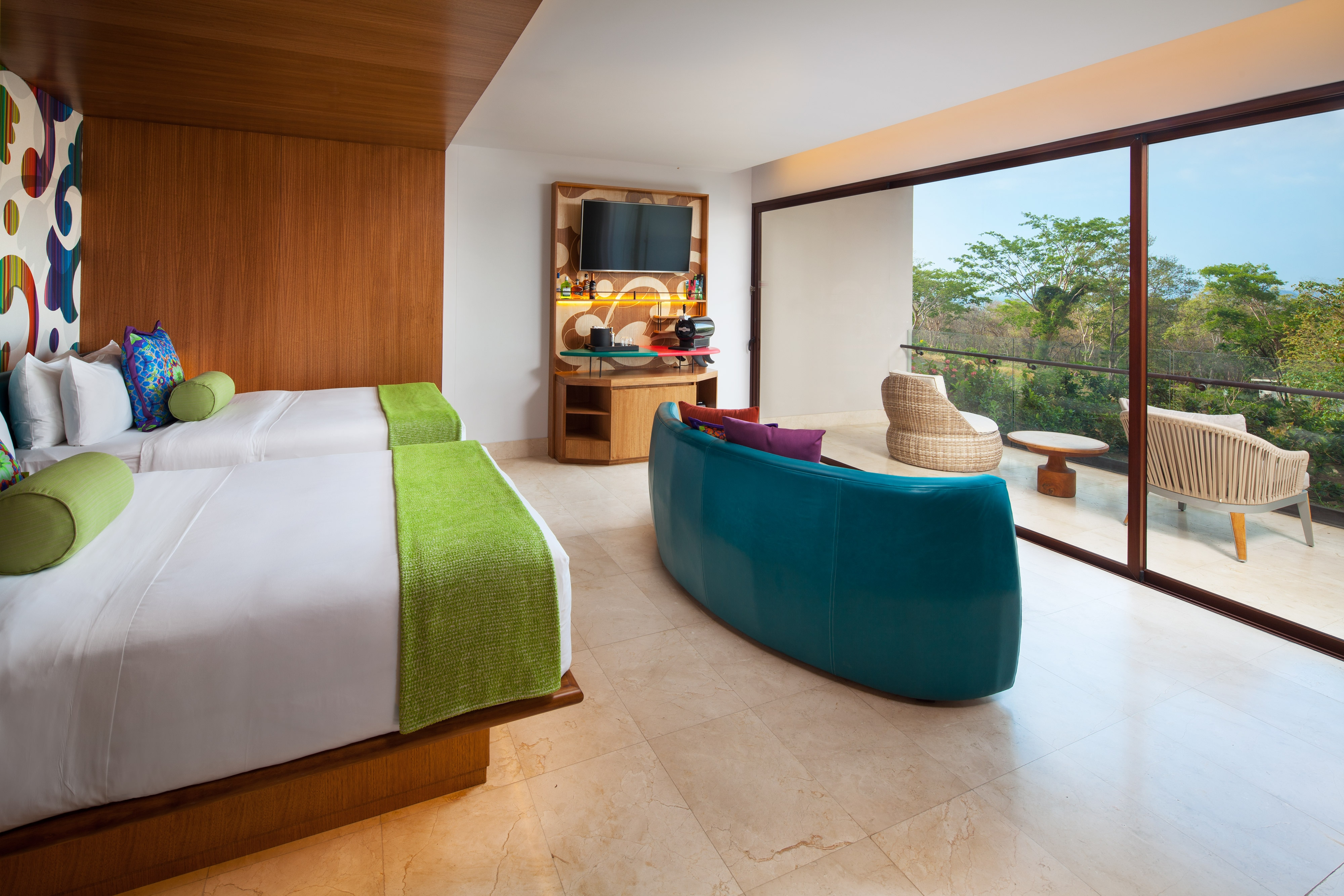 Double/Double Wonderful Escape Guest Room