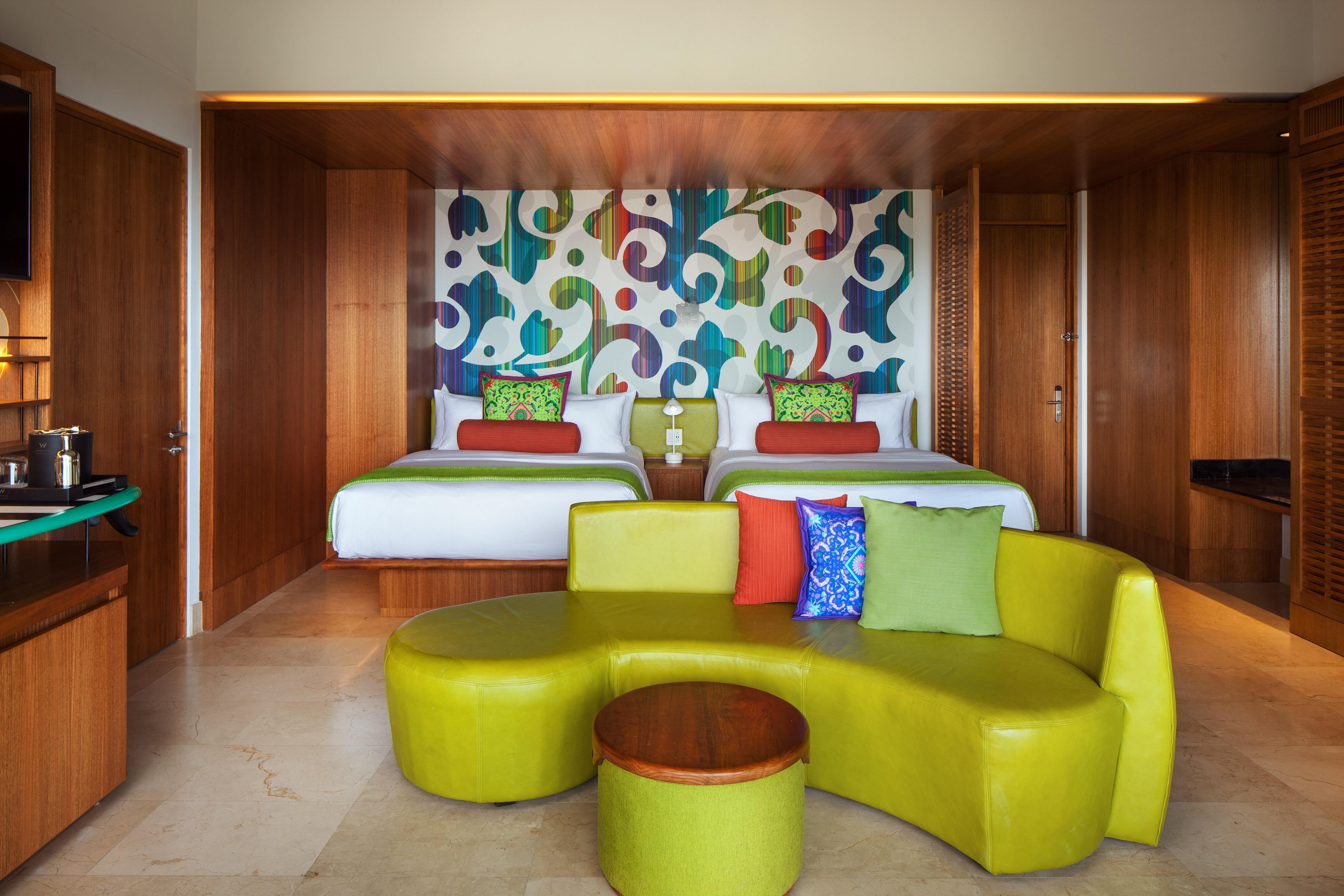 Double/Double Fabulous Escape Guest Room